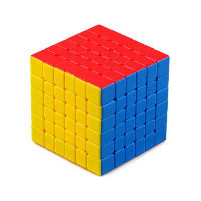 Cubo mágico do brinquedo inteligente do enigma 6x6x6