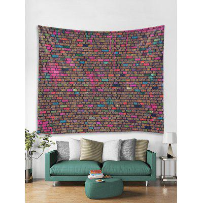 Unique Brick Wall Printed Tapestry Art Decoration