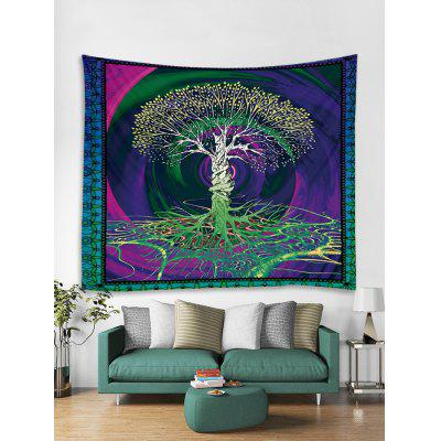Tree Life Printed Tapestry Art Decoration
