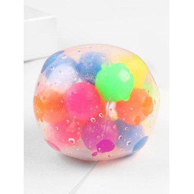 Colorful Balls Decoration Extruding Toys