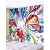 Feather Printed Tapestry Art Decoration - MULTI