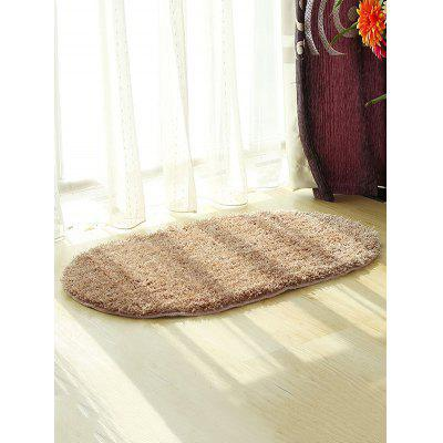 Fluffy Soft Oval Throw Rug