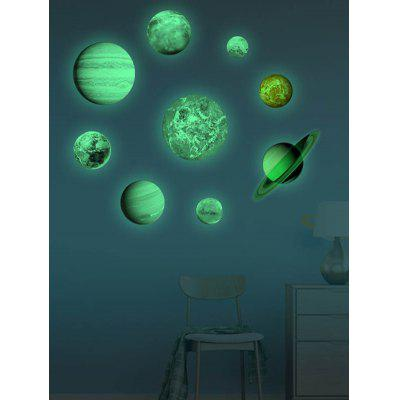 Unique Planet Wall Sticker