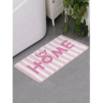 Letters Pattern Water Absorption Area Rug