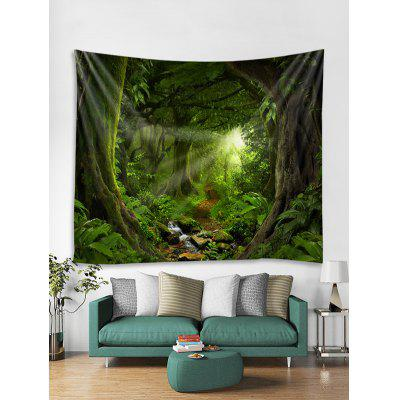 Forest Trail Print Tapestry Wall Hanging Art Decor