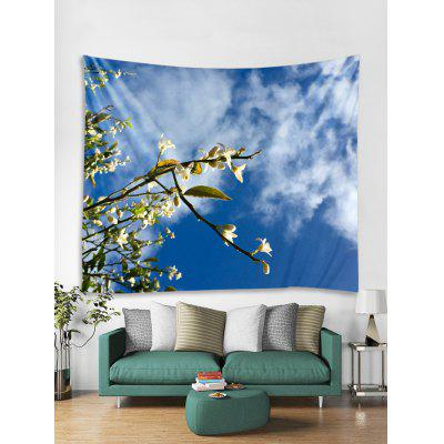 Floral Sky Printed Tapestry Art Decoration