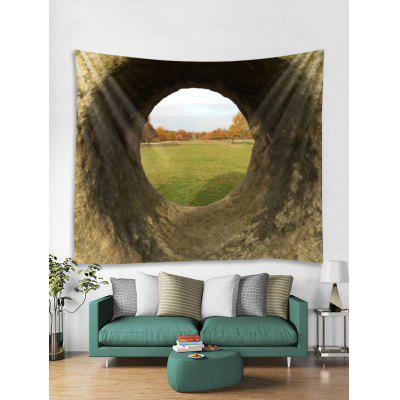 Hole Grasslands Stampa Tapestry Wall Hanging Art Decoration