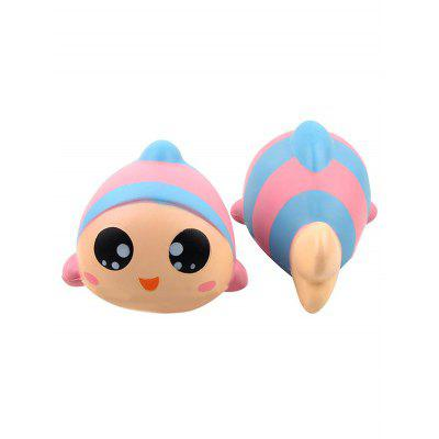Fish Stress-relief Slow Rising PU Squishy Toy