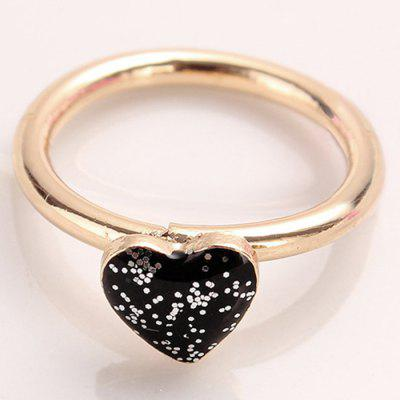Simple Heart Finger Ring