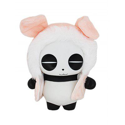 Panda Toy In Cartoon Pig forma mantello