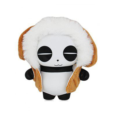 Panda Toy In Cartoon Dog forma mantello