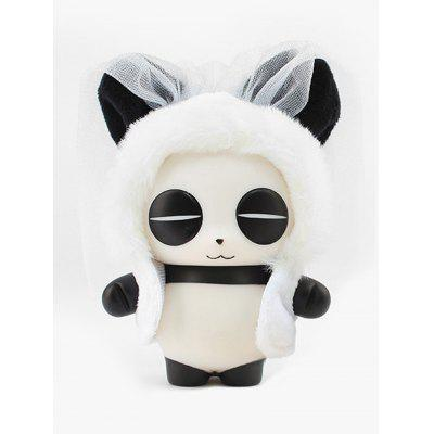 Panda Toy In Cartoon Snake Shape Cloak