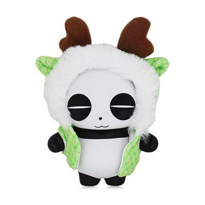 Panda Toy In Cartoon Dragon forma mantello