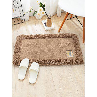 Plant Pattern Water Absorption Chenille Area Rug