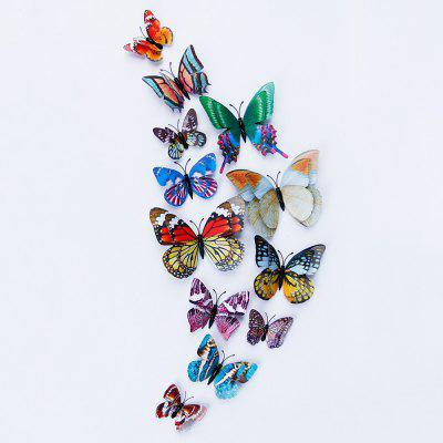 Double Layer Luminous 3D Butterfly Wall Stickers