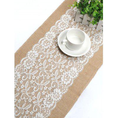 Wedding Decoration Lace Linen Tablecloth