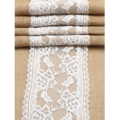 Jute Lace Tablecloth