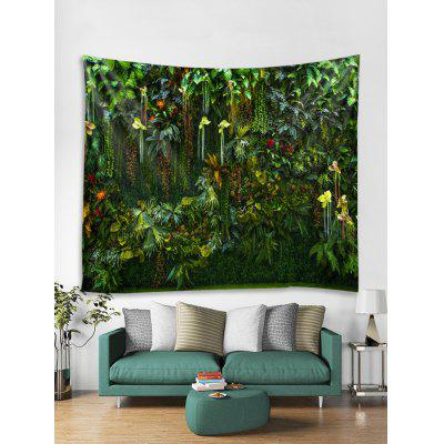 Flower Ivy Creeper Pattern Wall Art Tapestry