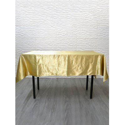 Jacquard Flower Pattern Dining Table Cloth