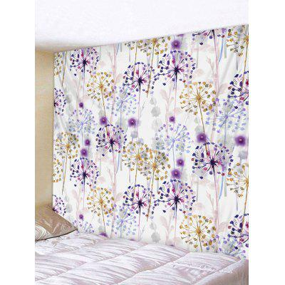 Hanging Home Decor Flowers Print Tapestry