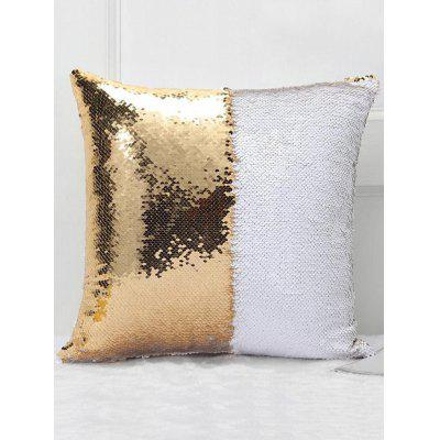 Double Color DIY Square Sequins Pillowcase