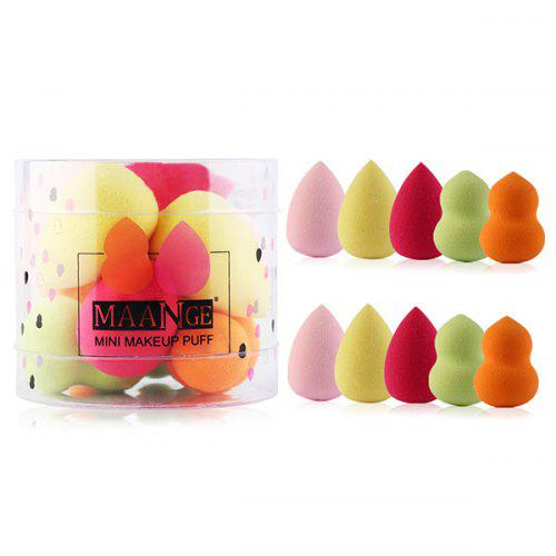 Multifunctional Mini Makeup Powder Puffs 10pcs