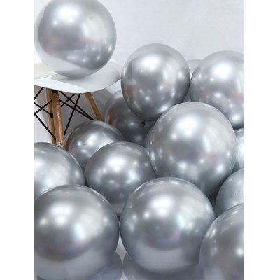 Metallischer Druck-Party -Dekoration -Luftballons