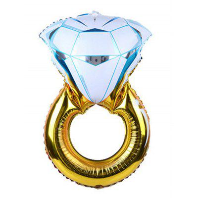 Hochzeitsdekorations-Diamant-Ring-Form-Ballon