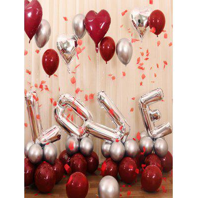 Wedding Decorations Letters Shape Balloons