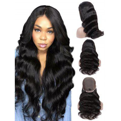 Medium Part Long Body Wave Synthetic Wig