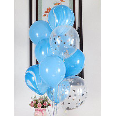 20 STÜCKE 12 zoll Pailletten Party Dekoration Latex Ballons