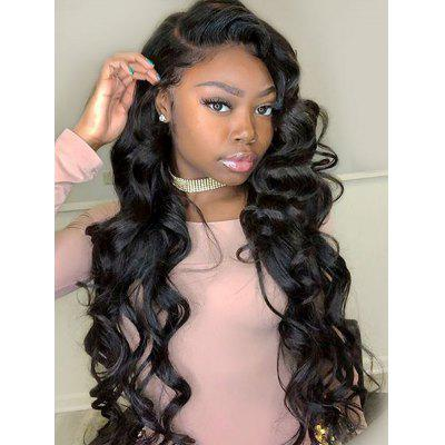 Long Loose Wave Synthetic Lace Front Wig