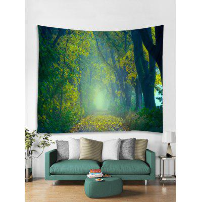 Forest Trail Print Tapestry Wall Hanging Decor
