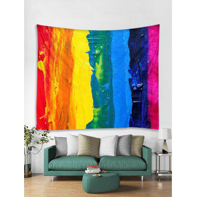 Colorful Paint Print Tapestry Wall Hanging Art Decoration, Wall Decor,Wall Tapestry,Wall Decoration,Wall Blankets,Wall Hangings,Rainbow Tapestry