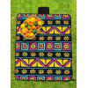 Patterned Waterproof Picnic Blanket - MULTI