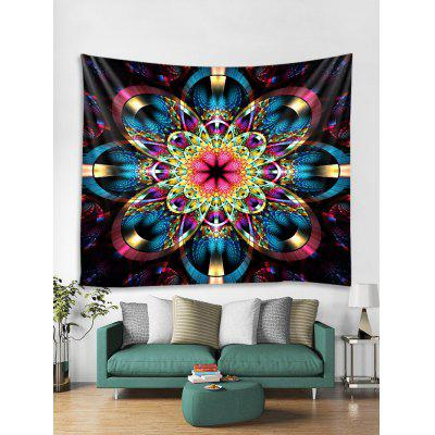 Colorful Flower Print Tapestry Wall Hanging Art Decor