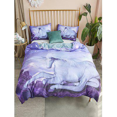Horse Print 3PCS Bedding Set