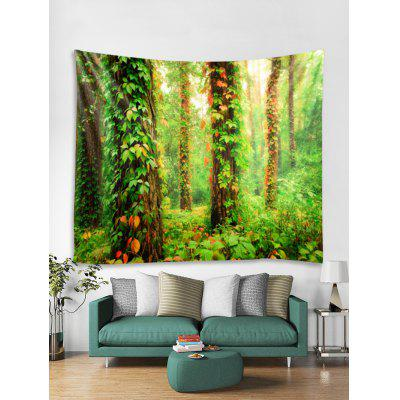 Forest Vine Print Tapestry Wall Hanging Art Decoration