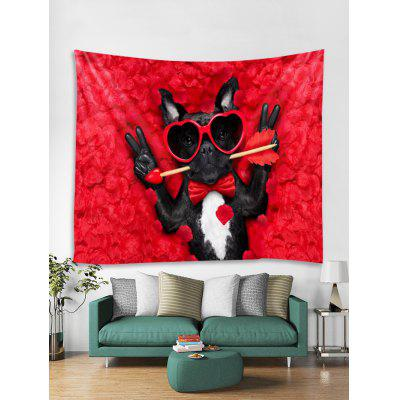 Wall Arrow Dog Print Tapestry Wall Hanging Decorazione di arte