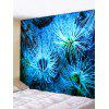 Ocean Plant Print Tapestry Wall Hanging Art Decoration - DODGER BLUE