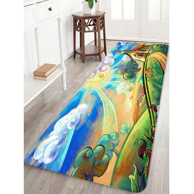 Scenery Painting Water Absorption Rug