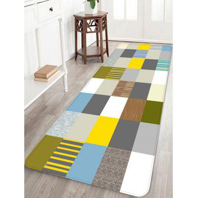 Colorful Plaid Design Rug