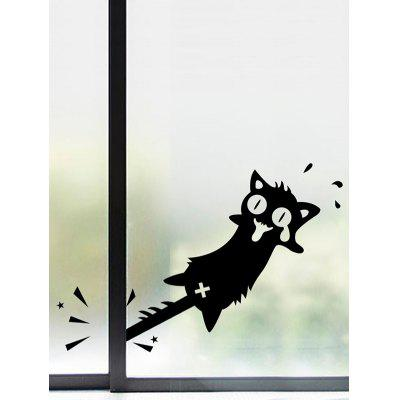 Cartoon Cat Pattern Wall Sticker