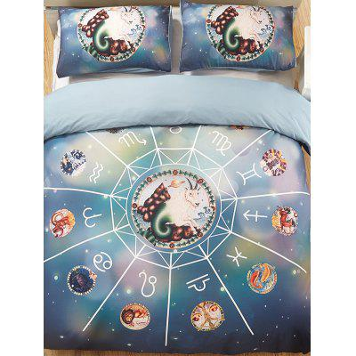 Capricorn Print 3PCS Bedding Set