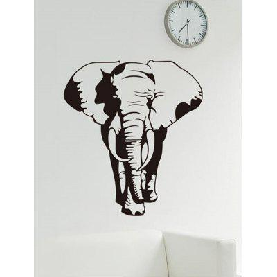 Elephant Pattern Wall Sticker