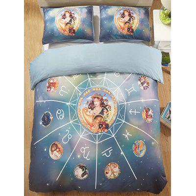 Virgo Print 3PCS Bedding Set