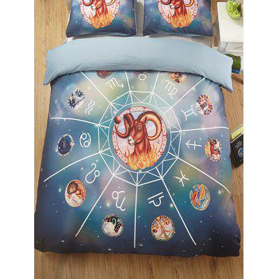 Aries Print 3PCS Bedding Set