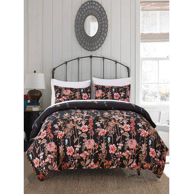 Floral Pattern 3PCS Bedding Set