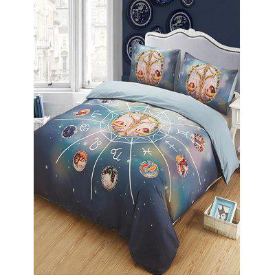 Libra Print 3PCS Bedding Set