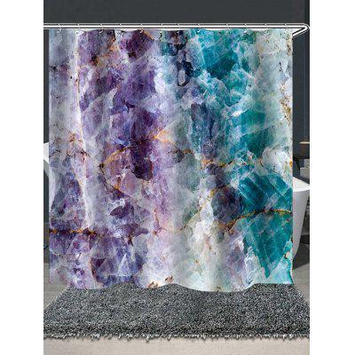 Unique Stone Printed Waterproof Shower Curtain